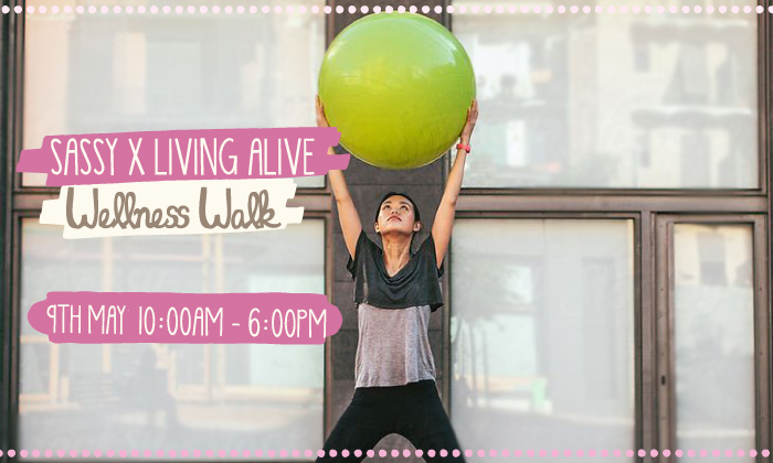 You're Invited: Sassy x Living Alive Wellness Walk